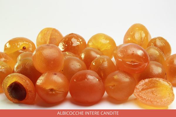 Albicocche intere candite - Ambrosio