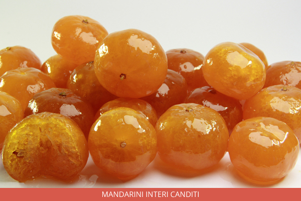Mandarini interi canditi - Ambrosio