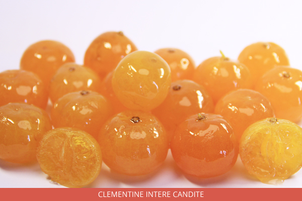 Clementine intere candite - Ambrosio
