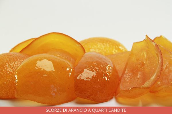 Scorze di arancio a quarti candite - Ambrosio