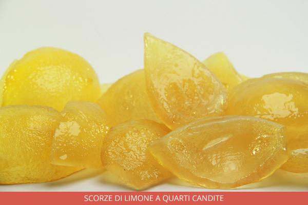 Scorze di Limone a quarti candite - Ambrosio
