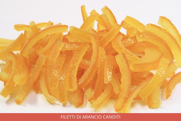 Filetti di arancio canditi - Ambrosio