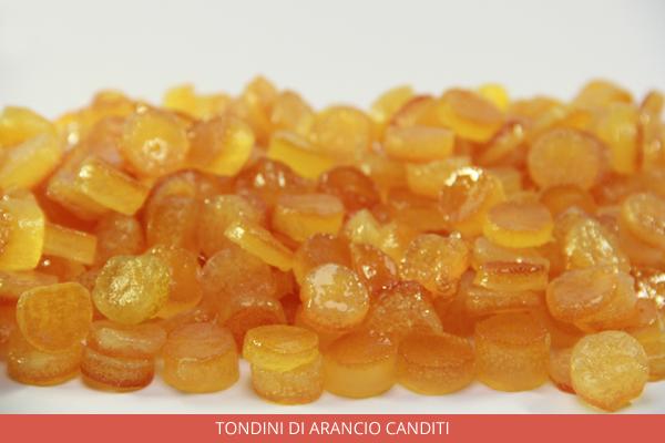Tondini di arancio canditi - Ambrosio