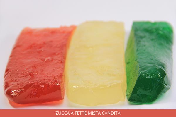 Zucca a fette mista candita - Ambrosio