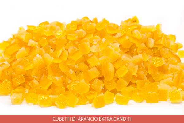 Cubetti Di arancio extra canditi - Ambrosio