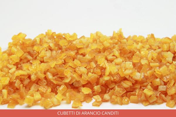 Cubetti Di arancio canditi - Ambrosio