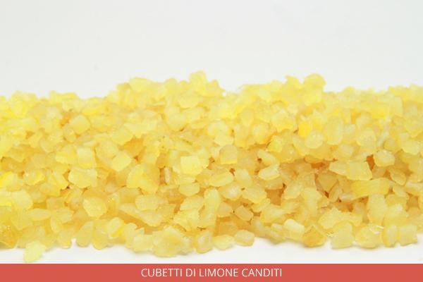 Cubetti Di Limone canditi - Ambrosio