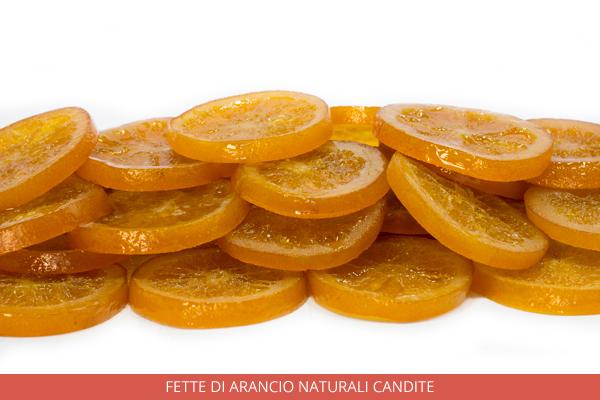 Fette di arancio naturali candite - Ambrosio