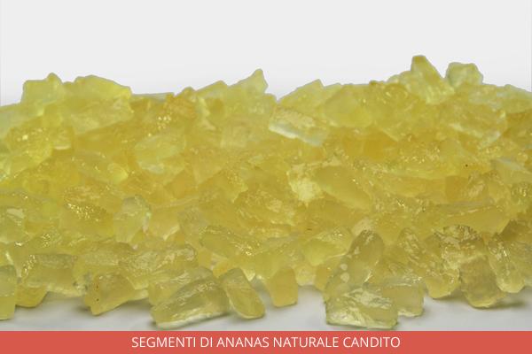 Segmenti di ananas naturale candito - Ambrosio
