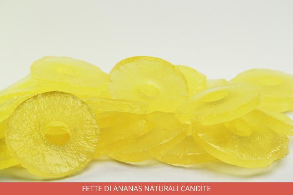 Fette di ananas naturali candite - Ambrosio