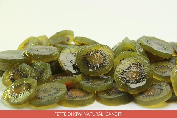 Fette di Kiwi naturali canditi - Ambrosio