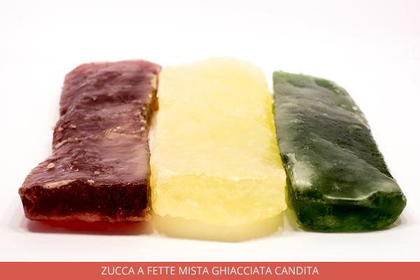 Zucca a fette mista ghiacciata candita - Ambrosio