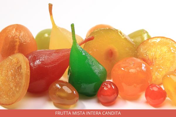 Frutta mista intera candita - Ambrosio