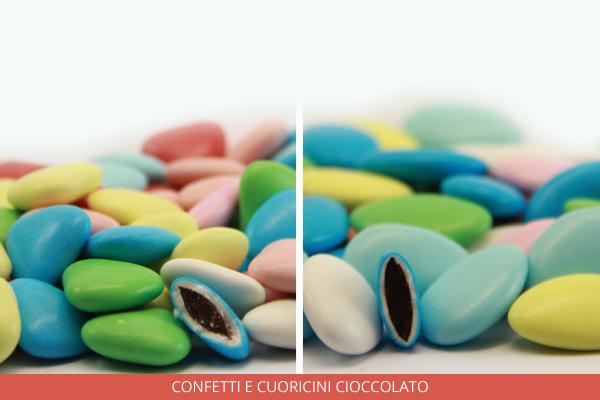 Confetti e cuoricini cioccolato - Ambrosio
