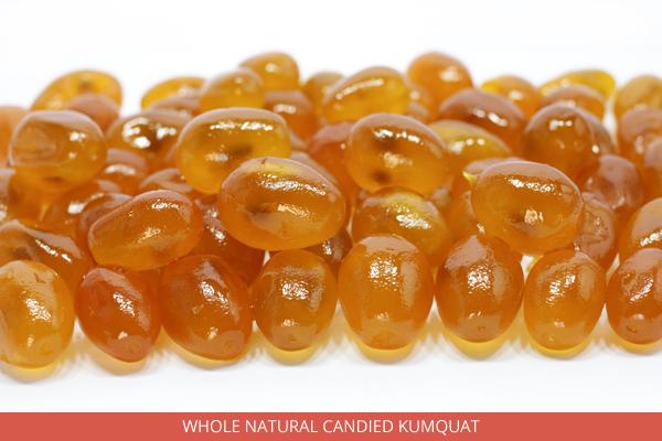 Whole Natural Candied Kumquat - Ambrosio
