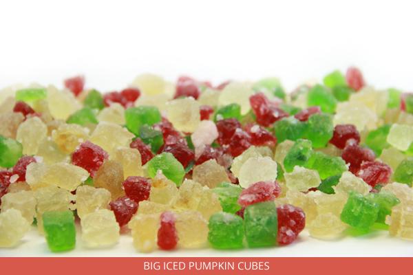 Big Iced Pumpkin Cubes - Ambrosio