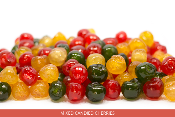 Mixed candied cherries - Ambrosio