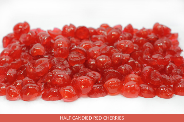 Half Candied Red Cherries - Ambrosio