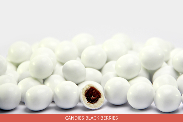 Candies black berries - Ambrosio