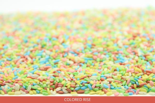 Colored Rice - Ambrosio