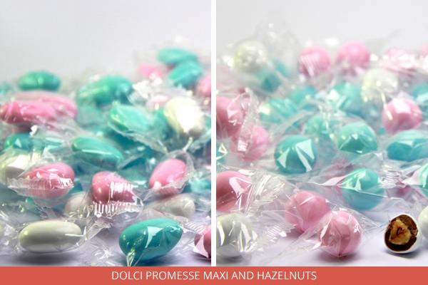 Dolci Promesse Maxi and hazelnuts - Ambrosio