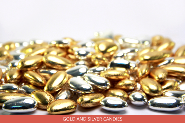 Gold and Silver Candies - Ambrosio