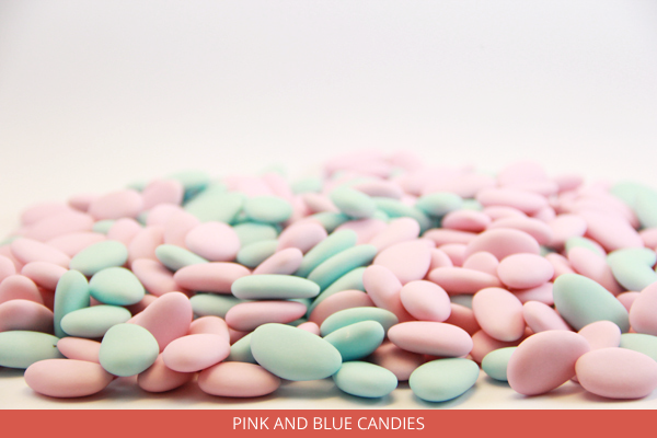 Pink and Blue Candies - Ambrosio