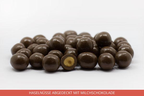 Haselnüsse abgedeckt mit Milchschokolade - Ambrosio
