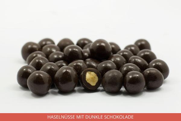 Haselnüsse mit dunkle Schokolade - Ambrosio
