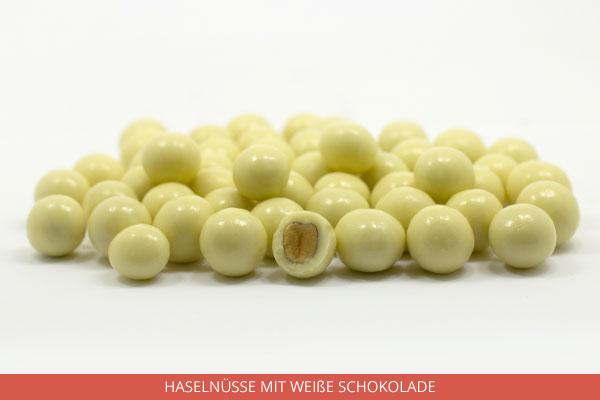 Haselnüsse mit weiße Schokolade - Ambrosio