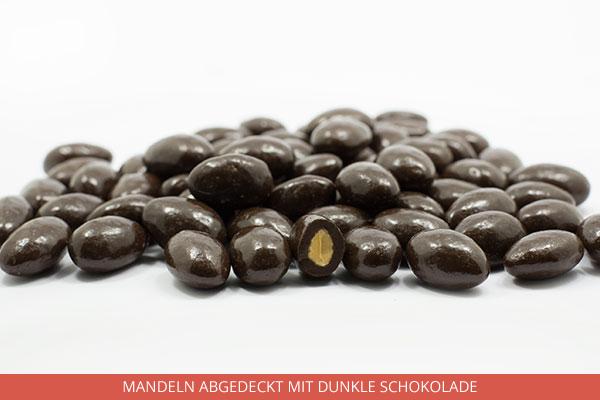 Mandeln abgedeckt mit dunkle Schokolade - Ambrosio