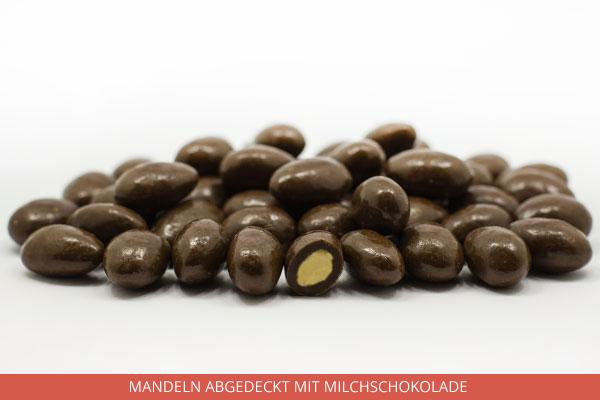 Mandeln abgedeckt mit Milchschokolade - Ambrosio