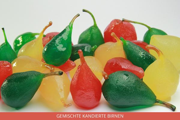 Gemischte Kandierte Birnen - Ambrosio