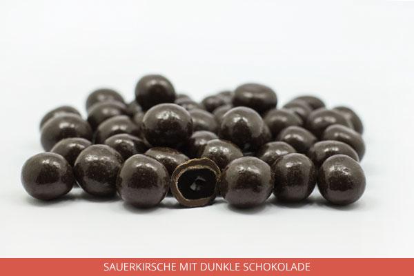 Sauerkirsche mit dunkle Schokolade - Ambrosio