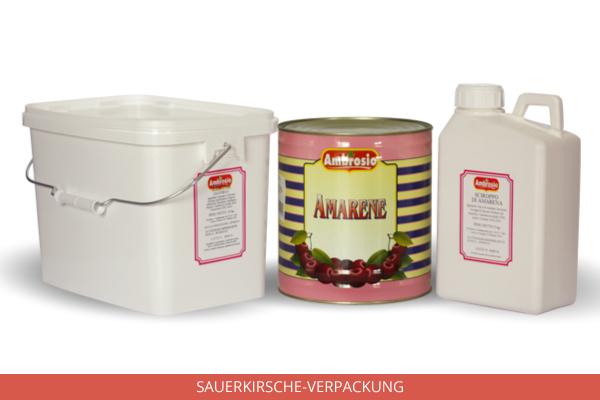 Sauerkirsche Verpackung - Ambrosio