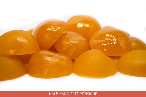 Halb Kandierte Pfirsiche - Ambrosio