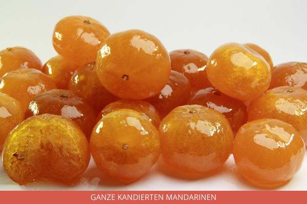 Ganze Kandierten Mandarinen - Ambrosio