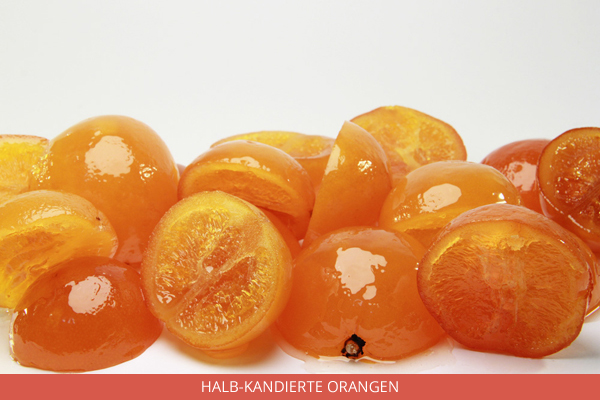 Halb Kandierte Orangen - Ambrosio