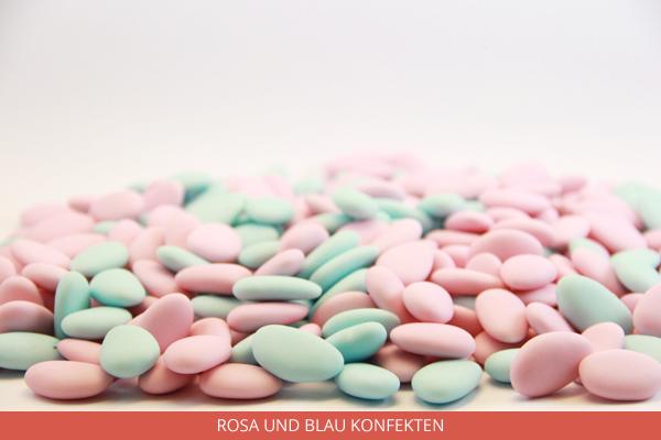 Rosa und Blau Konfekten - Ambrosio