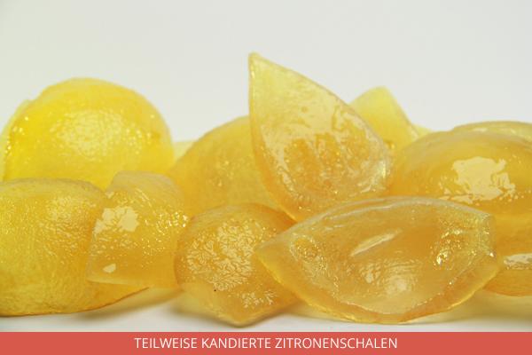Teilweise Kandierte Zitronenschalen - Ambrosio