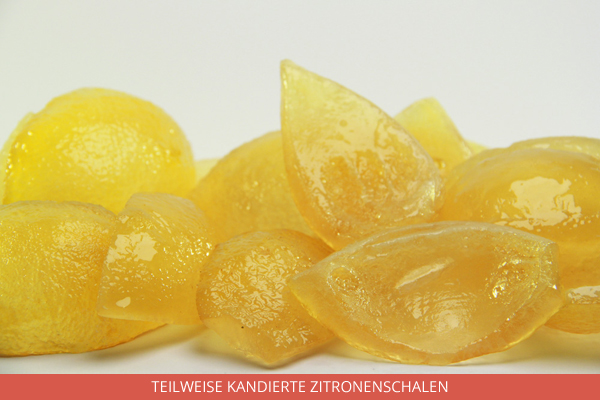 Kandierte Zitronen Rundes Plättchen - Ambrosio
