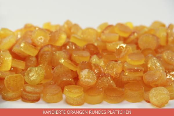 Kandierte Orangen Rundes Plättchen - Ambrosio