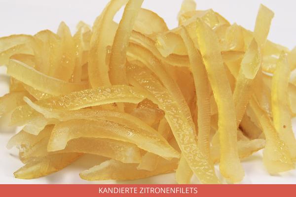 Kandierte Zitronenfilets - Ambrosio