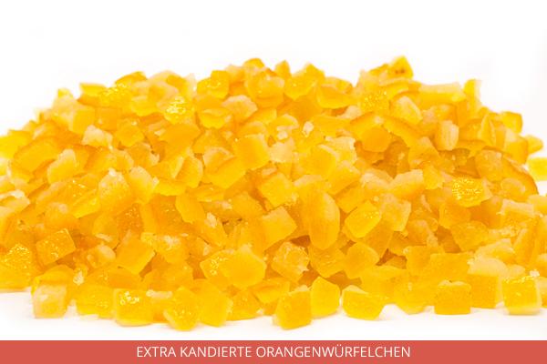 Extra Kandierte Orangenwürfelchen - Ambrosio