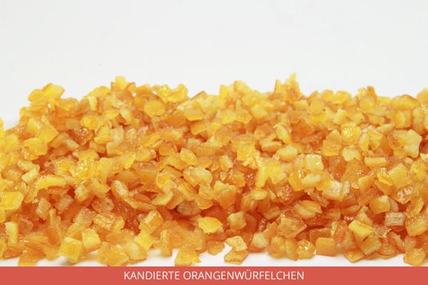 Kandierte Orangenwürfelchen - Ambrosio