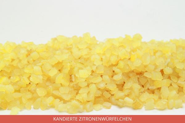 Kandierte Zitronenwürfelchen - Ambrosio