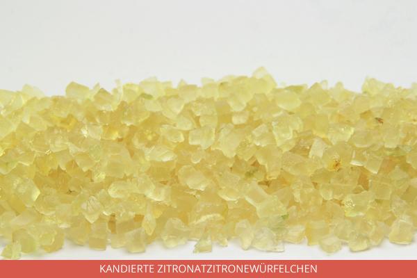 Kandierte Zitronatzitronewürfelchen - Ambrosio