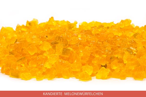 Kandierte Melonewürfelchen - Ambrosio