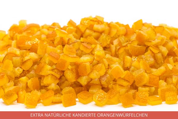 Extra Natürliche Kandierte Orangenwürfelchen - Ambrosio