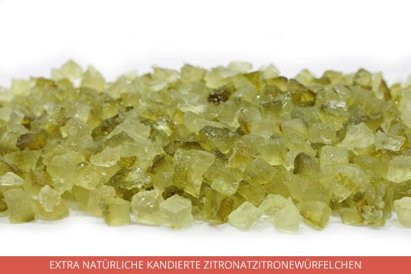 Extra Natürliche Kandierte Zitronatzitronewürfelchen - Ambrosio